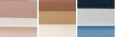 Soft Pink/Light Cream/Fawn/Gold