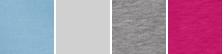 Cerulean/light Silver