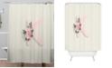 Deny Designs Iveta Abolina Pivoine K Shower Curtain