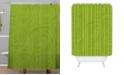 Deny Designs Iveta Abolina Green Terrace II Shower Curtain