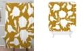 Deny Designs Iveta Abolina La Jardin Noir VI Shower Curtain
