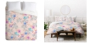 Deny Designs Iveta Abolina Peach Charlotte Twin Duvet Set