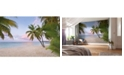 Brewster Home Fashions Paradise Morning Mural
