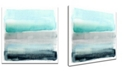 Ready2HangArt 'Parallel Energy II' Abstract Canvas Wall Art, 20x20""