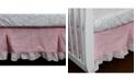 3 Stories Trading Nurture Pink Velour Dust Ruffle
