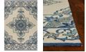 Kas Harbor Serafina 4238 Ivory/Blue 2' x 3' Indoor/Outdoor Area Rug