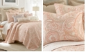 Levtex Spruce Coral Paisley Reversible Full/Queen Quilt Set