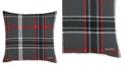 Eddie Bauer Winslow Dark Grey Square Pillow