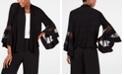 R & M Richards Statement-Sleeve Waterfall Jacket