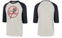 '47 Brand Men's New York Yankees Coop Throwback Club Raglan T-Shirt