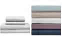 Elite Home Satin Cooling Cotton King Sheet Set