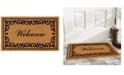 """Home & More Breaux 17"""" x 29"""" Welcome Coir/Vinyl Doormat"""