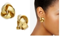 Charter Club Love Knot Clip-On Earrings, Created for Macy's