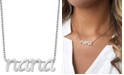 """Alex Woo Nana 16"""" Pendant Necklace in Sterling Silver"""