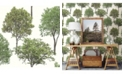 "Brewster Home Fashions Tree Tops Photographic Wallpaper - 396"" x 20.5"" x 0.025"""