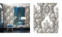 "Brewster Home Fashions Dreamer Damask Wallpaper - 396"" x 20.5"" x 0.025"""