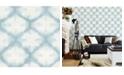 "Brewster Home Fashions Zanzibar Shibori Wallpaper - 396"" x 20.5"" x 0.025"""