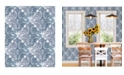 "Brewster Home Fashions Balangan Damask Wallpaper - 396"" x 20.5"" x 0.025"""