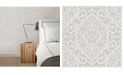 """Brewster Home Fashions Heavenly Damask Wallpaper - 396"""" x 20.5"""" x 0.025"""""""
