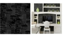 """Brewster Home Fashions Limelight City Wallpaper - 396"""" x 20.5"""" x 0.025"""""""
