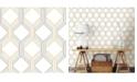 "Brewster Home Fashions Linkage Trellis Wallpaper - 396"" x 20.5"" x 0.025"""