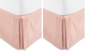Hotel Collection Classic Roseblush Cotton King Bedskirt, Created for Macy's