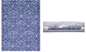 Bridgeport Home Felipe Fel1 Blue 9' x 12' Area Rug