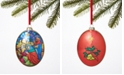 Holiday Lane Renaissance Joy To The World Three Kings Glitter Ornament, Created for Macy's