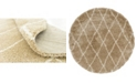 Bridgeport Home Fazil Shag Faz3 Taupe Area Rug Collection