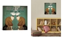 """iCanvas Beagle Coffee Co. by Ryan Fowler Gallery-Wrapped Canvas Print - 37"""" x 37"""" x 0.75"""""""
