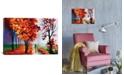"""iCanvas Lilac Fog by Leonid Afremov Gallery-Wrapped Canvas Print - 18"""" x 26"""" x 0.75"""""""
