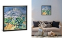 "iCanvas Mont Sainte-Victoire, 1900 by Paul Cezanne Gallery-Wrapped Canvas Print - 26"" x 26"" x 0.75"""