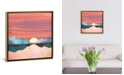 """iCanvas """"Pink Oasis"""" by Spacefrog Designs Gallery-Wrapped Canvas Print"""