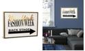 "iCanvas Fashion Week Ny Gold by Amanda Greenwood Gallery-Wrapped Canvas Print - 18"" x 26"" x 0.75"""