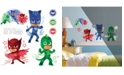York Wallcoverings PJ Masks with Glow Peel and Stick Wall Decals