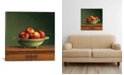"iCanvas Apples by Jos Van Riswick Wrapped Canvas Print - 18"" x 18"""
