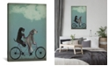 iCanvas  Schnauzer Tandem by Fab Funky Wrapped Canvas Print Collection