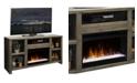 "Legends Furniture Joshua Creek 62"" Fireplace Console"