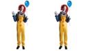 BuySeasons Buy Seasons Men's Stephen King's It - Deluxe Pennywise Clown Costume