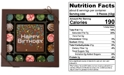 Chocolate Works 17-Pc. Birthday Gourmet Chocolate Truffles