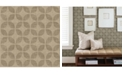 "A-Street Prints 20.5"" x 396"" Polaris Geometric Wallpaper"