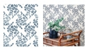 "A-Street Prints 20.5"" x 396"" Arabesque Floral Trail Wallpaper"