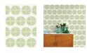 """A-Street Prints 20.5"""" x 396"""" Luminary Ogee Wallpaper"""
