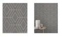 """Advantage 20.5"""" x 369"""" Adaline Geometric Wallpaper"""
