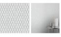 "Advantage 20.5"" x 369"" Elodie Light Geometric Wallpaper"