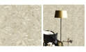 "Advantage 20.5"" x 369"" Los Cabos Champagne Marble Geometric Wallpaper"
