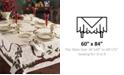 "Lenox CLOSEOUT! Holiday Nouveau 60"" x 84"" Tablecloth"
