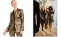 INC International Concepts INC Metallic Blazer, Created For Macy's