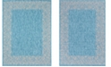 Bridgeport Home Pashio Pas7 Light Aqua Area Rug Collection