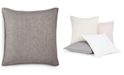 """Hotel Collection CLOSEOUT! Linen Basic 20"""" x 20"""" Decorative Pillow, Created for Macy's"""